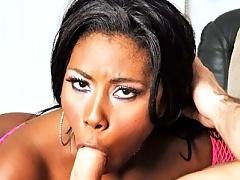 All Natural Ebony Sex Star