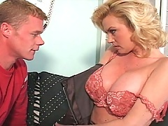 This young dude has no idea what he's getting into with Caroline Monroe!