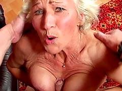 Fuckin old grandmas hairy cunt