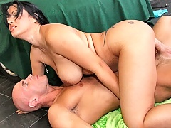 Busty Milf really loves big dick
