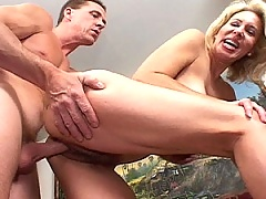 When the pussy gets too worn, Casey takes it smooth in the asshole!