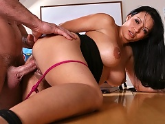 Tight milf teacher gets slammed in her wet pussy