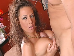 Busty mature wet pussy fucked by Jay