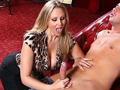 Julia Ann is hunting for young hard cock to fuck