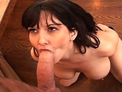 Cerrie Ann opens her pussy up, signaling all comers
